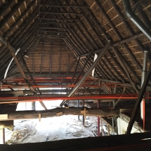 Nieuw dak boerderij Gees